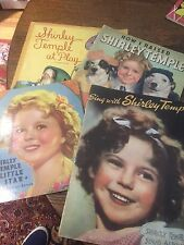 Lot Of 4 Shirley Temple books , magazines 4 great items All In Great Shape