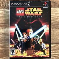 LEGO Star Wars PS2 Game Sony PlayStation 2 Video Game