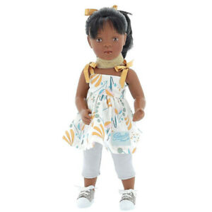 "Minouche Roxane, a 13.5"" Vinyl Doll designed by Sylvia Natterer"