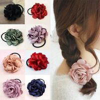 2018 Women Girls Elastic Hair Ring Flower Hair Rubber Bands Rope Cloth Headbands