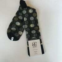 HS by Happy Socks Men's  Cotton Socks 13-15 King Size NWT Abstract Dots