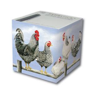 Padblock Black & White Chickens