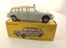 Dinky Toys F n° 556 Citroën ID19 Ambulance municipale en boite rare version