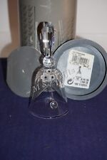 "Swarovski Silver Crystal ""Medium Dinner Table Bell"" With Box & Coa Mint New"