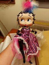 Can Can Betty Porcelin Doll Betty Boop, Danbury Mint Syd Hap