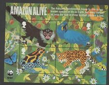 GB 2011 World Wildlife Fund WWF 50th MINISHEET SGMS3172 MNH stamps cat £7.50