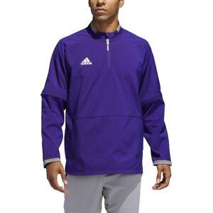 adidas Men's Fielder's Choice 2.0 Convertible Cage Long Sleeve Jacket Baseball
