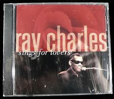 Ray Charles Sings for Lovers Import CD Still sealed! Brand new!