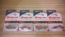 HOT WHEELS SNAP ON 2016 SPECIAL EDITION COMPLETE SET 4/4 HOTWHEELS