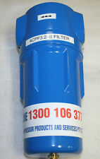 125cfm compressed air oil removal filter for spray painters after their dryer