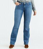 Levi's women Curvy Bootcut Jeans Medium Blue 18 Medium 34x32 actual 36x32