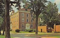 Crawfordsville Indiana~Wabash College~Goodrich Hall~1960s Postcard