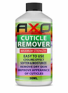 Cuticle Remover Gel Peppermint Oil Softens Moisturises Dead Skin 30ml