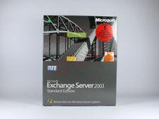 Exchange Server 2003 Standard mit 5 Clients Vollversion, deutsch - neu, SKU: 312