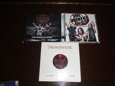 Dream Theater & Winery Dogs Cd Lot 3 Albums Live at Budakon Hot Streak Oop