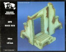 Verlinden Productions 120mm 1:16 House Ruin Plaster Diorama Accessory #1073
