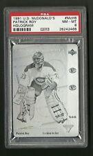 Patrick Roy 1991 Upper Deck McDonalds Hockey Hologram Card #McH6 PSA 8 NM-MT