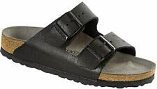 Birkenstock Womens Arizona Open Toe Casual Slide Sandals, Black, Size 6.0 kMrX