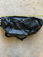 Patagonia Mesh Duffle Bag Made in USA Gym Vintage Black Tag Double Zipper YKK