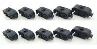 10x Halter Clip Haltefeder Klammer Bremsleitung Bremsschlauch 3-6 mm Leitung