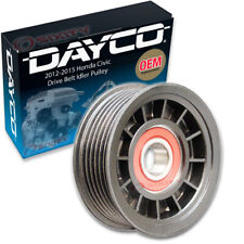 Dayco Drive Belt Idler Pulley for 2012-2015 Honda Civic 1.8L L4 - Tensioner hv
