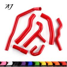 Fit 1986-1991 VW Golf GTI MK2 1.8 16V AC Coolant Silicone Radiator Hoses Red