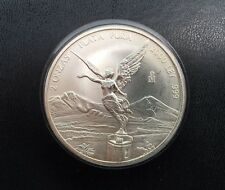 Mexico 2 Onzas 2 OZ LIBERTAD 2000 Silver Coin .999 Mintage Is 7500 Rare