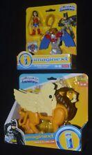 ZEUS & FLYING LION and WONDER WOMAN Imaginext DC Super Friends Batman MIP