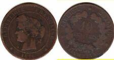 Pièces de monnaie françaises de 10 centimes 5 francs