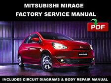 MITSUBISHI 2013 2014 2015 MIRAGE ULTIMATE SERVICE FACTORY WORKSHOP REPAIR MANUAL