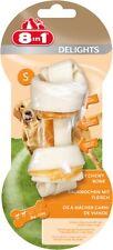 8in1 Delicias Tamaño S 1 Unidad Hueso para roer con Carne de pollo El