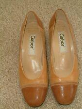 Gabor Elegant Sand & Tan 'Lady' Shoes. UK 5.5.EU 38.5. Immaculate. Worn Once