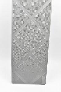2PK Composite Anti Slip Stair Tread 48 In Grey Step Cover Composigrip Anti Slip