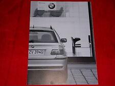 BMW 3er E46 Touring 318i 320i 325i 330i 320d 330d Preisliste von 2001
