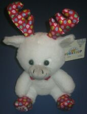 Build-A-Bear Smallfrys Gumdrop Moose Christmas Buddies Smallfry White