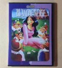 DVD Dessins Animés Blanche Neige