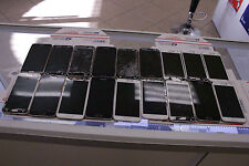 LOT OF 3 BROKEN AS IS Black/White/Gold Samsung Galaxy S 5 SM-G900P Sprint 16GB