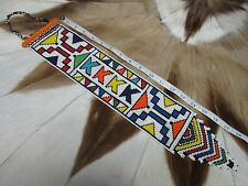 RARE BEAUTIFUL Ndebele Nyoga Beaded Wedding Bridal Veil South Africa #106