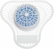 Big D 689 Extra Duty Urinal Screen with Non-Para Block, 1500 Flushes, Cherry .