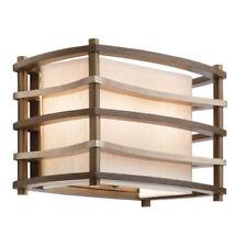 Lampade da parete da interno marrone legno , Numero di luci 1-3