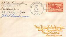 894 3c Pony Express Doris Wunder cover [432592]