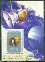 GUINEA 2014 10th  ANNIVERSARY OF CASSINI'S VOYAGE TO SATURN  S/S  MINT NH