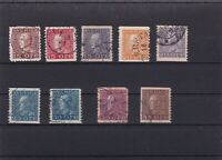 SWEDEN  MOUNTED MINT OR USED STAMPS ON  STOCK CARD  REF R884