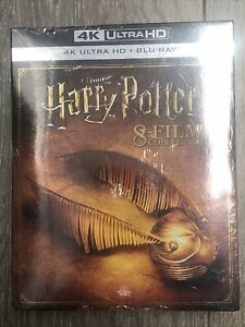 Harry Potter 4k Ultra HD 8 Film Collection + Blu Ray NEW Sealed !!