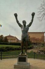 Sylvester Stallone Rocky Statue Philadelphia Museum of Art Pennsylvania Postcard