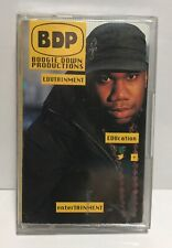 Edutainment by Boogie Down Productions - Cassette Jive 1990 BDP HipHop NYC