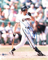WILL CLARK SIGNED AUTOGRAPHED 8x10 PHOTO SAN FRANCISCO GIANTS LEGEND BECKETT BAS