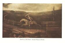 ALBERT PINKHAM RYDER 1939 Antique Art Print DEATH ON A PALE HORSE New Bedford MA