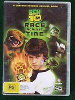 BEN 10 - RACE AGAINST TIME - Cartoon - DVD
