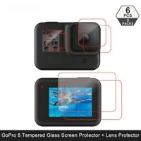 Tempered Glass Screen Protector for GoPro Hero 8 Black Lens Camera Accessories